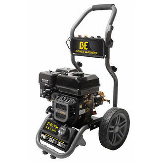 BE Petrol Pressure Cleaner 2600 psi Powerease Direct Drive
