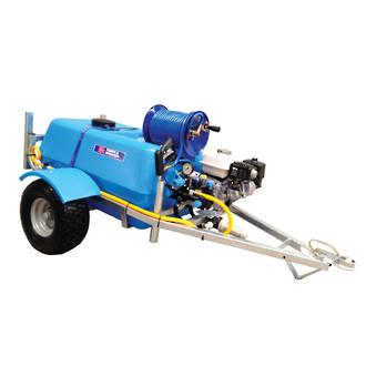 Bertolini 200L EZI-Spot Petrol Powered Trailed Sprayer