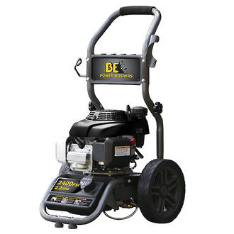 BE Petrol Pressure Cleaner 2400 psi Powerease Direct Drive