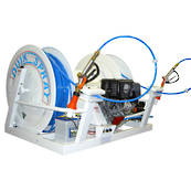 QuikSpray Twin Reel with 200M Hose