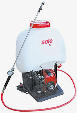 solo backpack power sprayer & weed sprayer